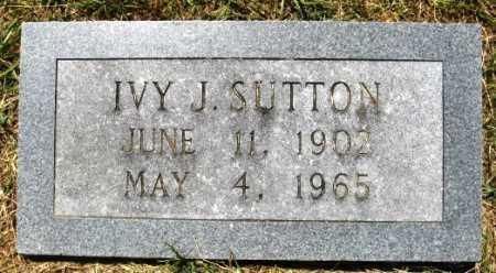 SUTTON, IVY J - Hempstead County, Arkansas | IVY J SUTTON - Arkansas Gravestone Photos