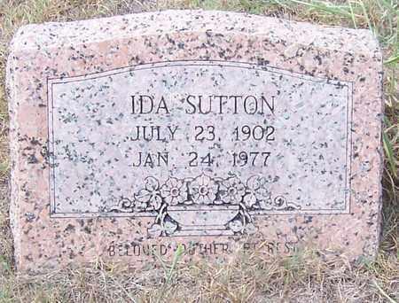 SUTTON, IDA - Hempstead County, Arkansas | IDA SUTTON - Arkansas Gravestone Photos