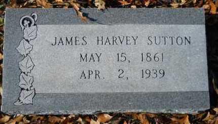 SUTTON, JAMES HARVEY - Hempstead County, Arkansas   JAMES HARVEY SUTTON - Arkansas Gravestone Photos