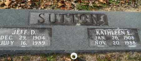 SUTTON, KATHLEEN E - Hempstead County, Arkansas | KATHLEEN E SUTTON - Arkansas Gravestone Photos