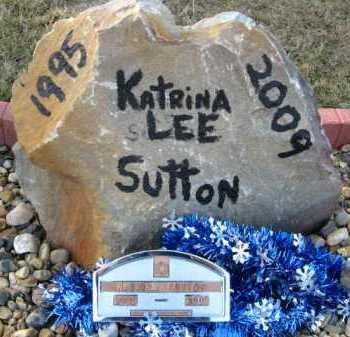 SUTTON, KATRINA LEE (FOOTMARKER) - Hempstead County, Arkansas | KATRINA LEE (FOOTMARKER) SUTTON - Arkansas Gravestone Photos