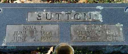 SUTTON, HUBY L - Hempstead County, Arkansas | HUBY L SUTTON - Arkansas Gravestone Photos