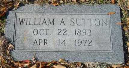 SUTTON, WILLIAM A - Hempstead County, Arkansas | WILLIAM A SUTTON - Arkansas Gravestone Photos
