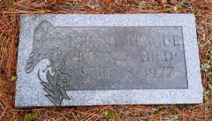 TEAGUE, INFANT - Hempstead County, Arkansas   INFANT TEAGUE - Arkansas Gravestone Photos