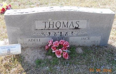 STRAWN THOMAS, ADELL - Hempstead County, Arkansas | ADELL STRAWN THOMAS - Arkansas Gravestone Photos