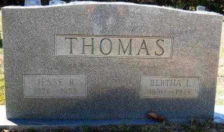 THOMAS, JESSE R - Hempstead County, Arkansas | JESSE R THOMAS - Arkansas Gravestone Photos