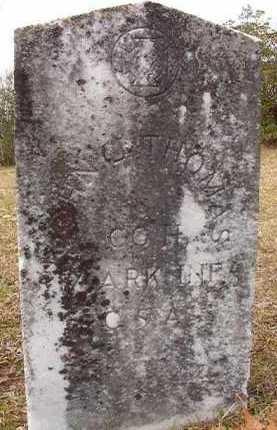 THOMAS (VETERAN CSA), JOHN J - Hempstead County, Arkansas | JOHN J THOMAS (VETERAN CSA) - Arkansas Gravestone Photos