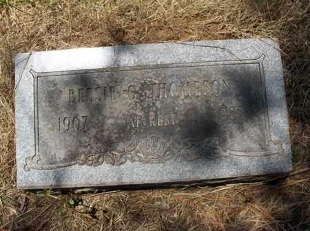 THOMPSON, BESSIE G - Hempstead County, Arkansas | BESSIE G THOMPSON - Arkansas Gravestone Photos