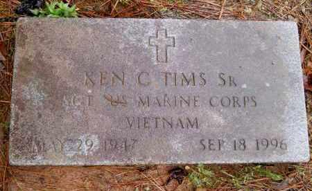 TIMS,SR (VETERAN VIET), KEN C - Hempstead County, Arkansas | KEN C TIMS,SR (VETERAN VIET) - Arkansas Gravestone Photos