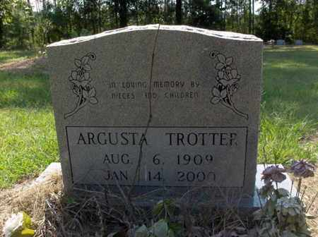 TROTTER, ARGUSTA - Hempstead County, Arkansas | ARGUSTA TROTTER - Arkansas Gravestone Photos