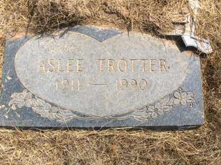 TROTTER, ASLEE - Hempstead County, Arkansas | ASLEE TROTTER - Arkansas Gravestone Photos
