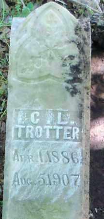 TROTTER, C  L - Hempstead County, Arkansas   C  L TROTTER - Arkansas Gravestone Photos