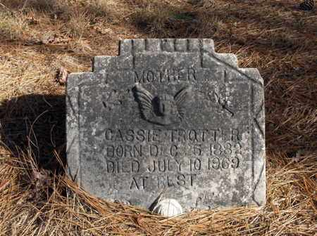 TROTTER, CASSIE - Hempstead County, Arkansas | CASSIE TROTTER - Arkansas Gravestone Photos