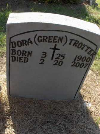 GREEN TROTTER, DORA - Hempstead County, Arkansas | DORA GREEN TROTTER - Arkansas Gravestone Photos