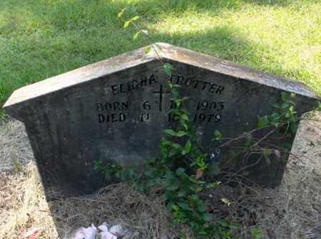TROTTER, ELIGHA - Hempstead County, Arkansas   ELIGHA TROTTER - Arkansas Gravestone Photos