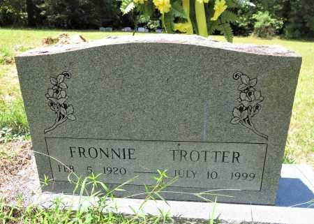 TROTTER, FRONNIE - Hempstead County, Arkansas | FRONNIE TROTTER - Arkansas Gravestone Photos