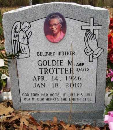 TROTTER, GOLDIE M - Hempstead County, Arkansas | GOLDIE M TROTTER - Arkansas Gravestone Photos