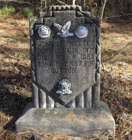 TROTTER, JOHN H - Hempstead County, Arkansas | JOHN H TROTTER - Arkansas Gravestone Photos