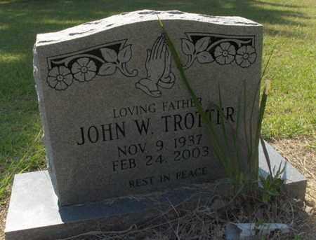 TROTTER, JOHN W - Hempstead County, Arkansas | JOHN W TROTTER - Arkansas Gravestone Photos