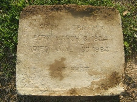 TROTTER, MACK - Hempstead County, Arkansas | MACK TROTTER - Arkansas Gravestone Photos