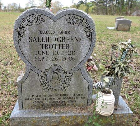 TROTTER, SALLIE - Hempstead County, Arkansas | SALLIE TROTTER - Arkansas Gravestone Photos