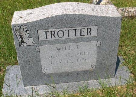 TROTTER, WILL E - Hempstead County, Arkansas   WILL E TROTTER - Arkansas Gravestone Photos