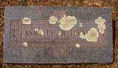 TURNER, ANNA - Hempstead County, Arkansas | ANNA TURNER - Arkansas Gravestone Photos