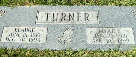TURNER, BLAIKIE - Hempstead County, Arkansas | BLAIKIE TURNER - Arkansas Gravestone Photos