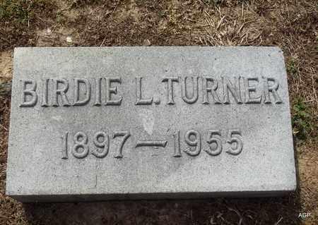 TURNER, BIRDIE L - Hempstead County, Arkansas   BIRDIE L TURNER - Arkansas Gravestone Photos
