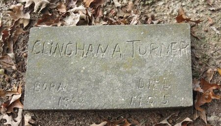 TURNER, CLINGHAN A. - Hempstead County, Arkansas | CLINGHAN A. TURNER - Arkansas Gravestone Photos