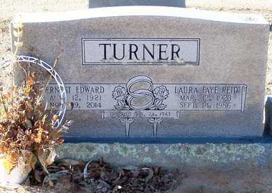 TURNER, ERNEST EDWARD - Hempstead County, Arkansas | ERNEST EDWARD TURNER - Arkansas Gravestone Photos