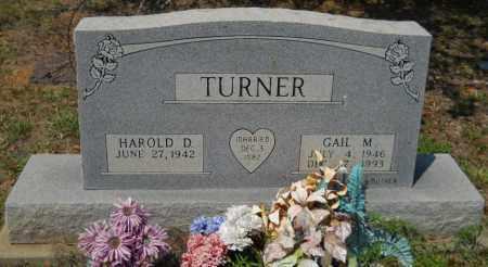 TURNER, GAIL M - Hempstead County, Arkansas   GAIL M TURNER - Arkansas Gravestone Photos