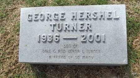 TURNER, GEORGE HERSHEL - Hempstead County, Arkansas | GEORGE HERSHEL TURNER - Arkansas Gravestone Photos