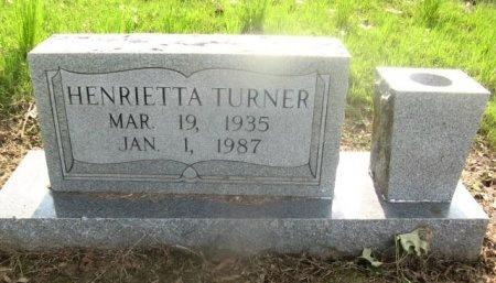 TURNER, HENRIETTA - Hempstead County, Arkansas | HENRIETTA TURNER - Arkansas Gravestone Photos