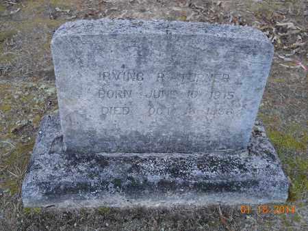 TURNER, IRVING R - Hempstead County, Arkansas | IRVING R TURNER - Arkansas Gravestone Photos