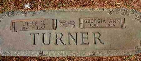 TURNER, JERE C - Hempstead County, Arkansas | JERE C TURNER - Arkansas Gravestone Photos
