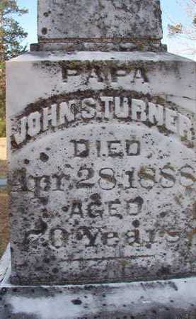 TURNER, JOHN S (CLOSE UP) - Hempstead County, Arkansas | JOHN S (CLOSE UP) TURNER - Arkansas Gravestone Photos