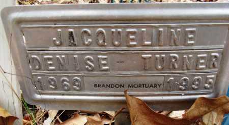 TURNER, JACQUELINE DENISE - Hempstead County, Arkansas | JACQUELINE DENISE TURNER - Arkansas Gravestone Photos