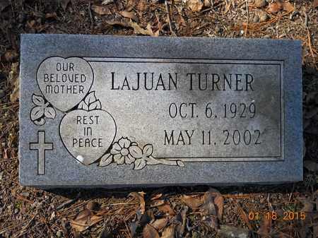 TURNER, LAJUAN - Hempstead County, Arkansas | LAJUAN TURNER - Arkansas Gravestone Photos