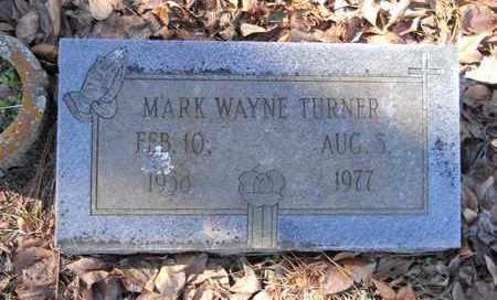 TURNER, MARK WAYNE - Hempstead County, Arkansas   MARK WAYNE TURNER - Arkansas Gravestone Photos