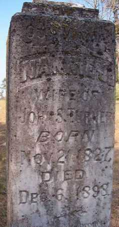 TURNER, NANNIE J (CLOSE UP) - Hempstead County, Arkansas | NANNIE J (CLOSE UP) TURNER - Arkansas Gravestone Photos