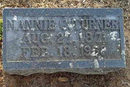 TURNER, NANNIE C - Hempstead County, Arkansas   NANNIE C TURNER - Arkansas Gravestone Photos