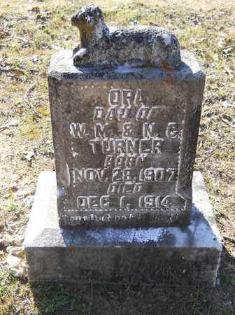TURNER, ORA - Hempstead County, Arkansas | ORA TURNER - Arkansas Gravestone Photos