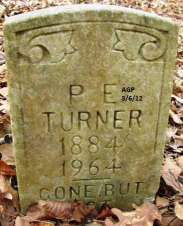 TURNER, P E - Hempstead County, Arkansas | P E TURNER - Arkansas Gravestone Photos