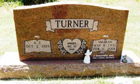 TURNER, VALDEAN - Hempstead County, Arkansas | VALDEAN TURNER - Arkansas Gravestone Photos