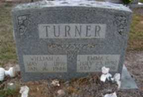 TURNER, WILLIAM A - Hempstead County, Arkansas | WILLIAM A TURNER - Arkansas Gravestone Photos