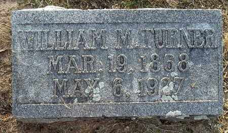 TURNER, WILLIAM M - Hempstead County, Arkansas | WILLIAM M TURNER - Arkansas Gravestone Photos