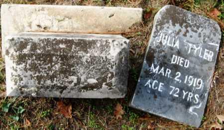 TYLER, JULIA - Hempstead County, Arkansas   JULIA TYLER - Arkansas Gravestone Photos