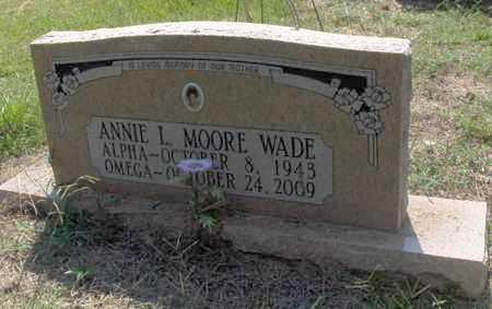 WADE, ANNIE L - Hempstead County, Arkansas | ANNIE L WADE - Arkansas Gravestone Photos