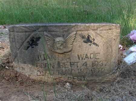 WADE, JUANITA - Hempstead County, Arkansas   JUANITA WADE - Arkansas Gravestone Photos